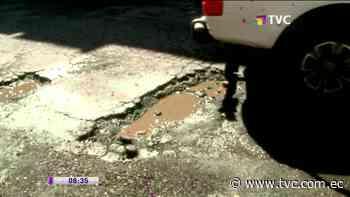Piden reparación vial en San Bartolo - tvc.com.ec