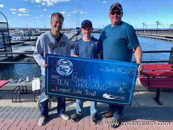 Sold-out Cold Lake fishing derby a success - The Cold Lake Sun