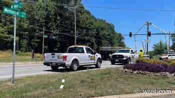 Part of Memorial Dr. closed in Danville as crews work to repair power lines - WSET