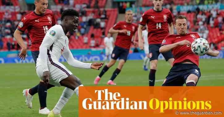 Bukayo Saka's versatility has Czechs flailing as England enjoy themselves   Jonathan Liew