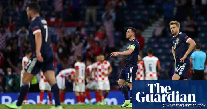 Scotland's Euro 2020 dreams dashed as Croatia and Modric turn on the style
