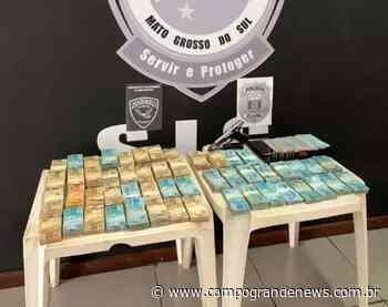 Alvo de Ivinhema foi preso com quase meio milhão de reais em espécie - Campo Grande News