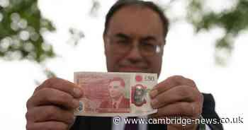 Cambridgeshire hero honoured on new £50 note released today