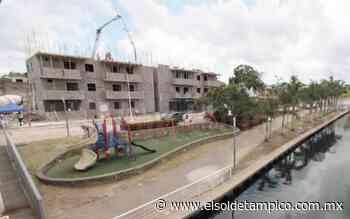 Construyen fraccionamientos en Canal de la Cortadura - El Sol de Tampico