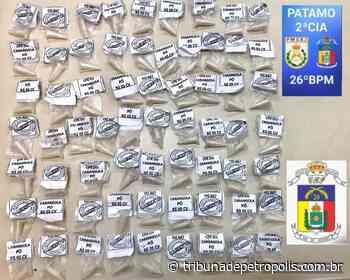 PM apreende 66 cápsulas de cocaína no Carangola   Tribuna de Petrópolis - Tribuna de Petrópolis