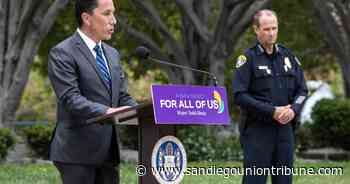 San Diego mayor, chief and police reform advocate talk policing during forum - The San Diego Union-Tribune