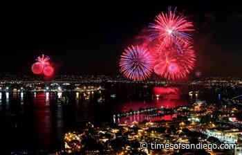 'Big Bay Boom' Fireworks Show Returning to San Diego on July 4 - Times of San Diego