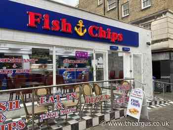 Fish and Chips, Preston Street, Brighton, 5am bid rejected