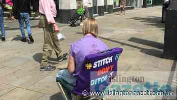 Angel shoppers urged 'Stitch it don't ditch it' - Islington Gazette