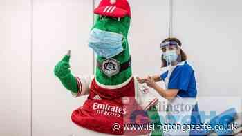 Arsenal offers behind scenes tour at Covid jab pop-up - Islington Gazette