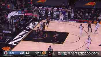 Terance Mann with a 2-pointer vs the Phoenix Suns