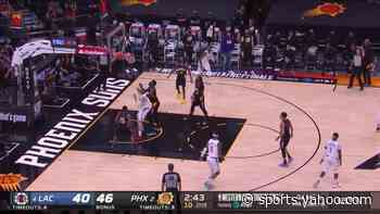 Patrick Beverley with a deep 3 vs the Phoenix Suns