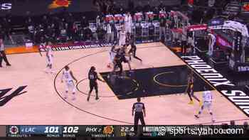 Paul George with a 2-pointer vs the Phoenix Suns