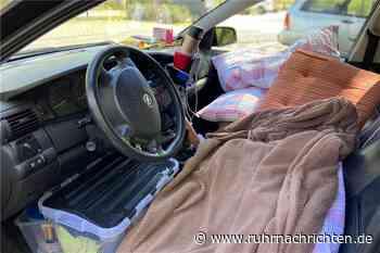 RN+ Leben im Auto: Obdachloses Paar mit Hund muss noch weiter durchhalten - Ruhr Nachrichten
