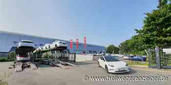 Am Tesla-Standort in Holzwickede herrscht Hochbetrieb - Hellweger Anzeiger