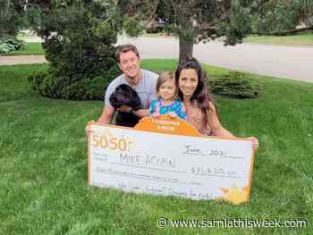 Bright's Grove family wins children's charity lottery - Sarnia and Lambton County This Week