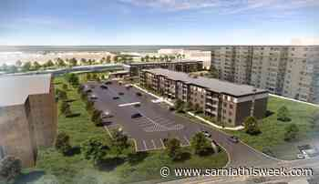 Virtual groundbreaking held for new Riverview Drive apartment - Sarnia and Lambton County This Week