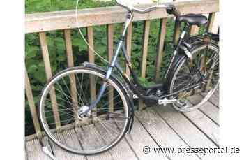 POL-WES: Dinslaken - Polizei sucht Eigentümer eines blauen Gazelle-Damenrads - Presseportal.de