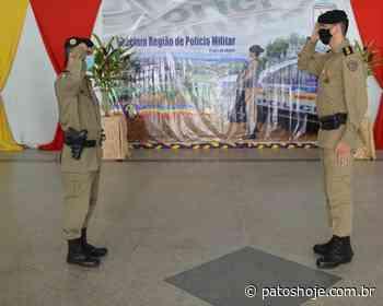 Polícia Militar comemora aniversário com solenidade e premiação em Patos de Minas - Patos Hoje - Notícias de Patos de Minas