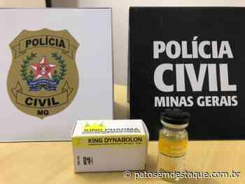 Personal é abordado pela PC com anabolizante em Patos de Minas - Patos em Destaque