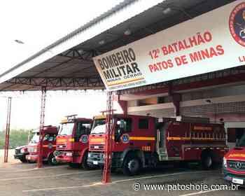 Incêndio em central de gás de fábrica em Patos de Minas mobiliza brigadistas e Corpo de Bombeiros - Patos Hoje - Notícias de Patos de Minas