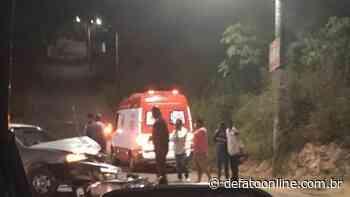 Acidente deixa motociclista ferido no bairro Machado em Itabira - DeFato Online