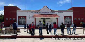 Tlaxiaco se une al simulacro nacional de Protección Civil - El Imparcial de Oaxaca