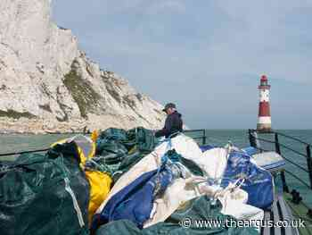 More than 40 years worth of rubbish removed from Beachy Head
