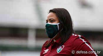 Thaissan Passos comenta desempenho na primeira fase do Brasileiro Feminino A2 - Defesa - Agência de Notícias