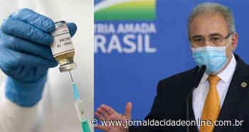A passos largos! - Brasil chega a mais de 30% da população vacinada com primeira dose - Jornal da Cidade Online