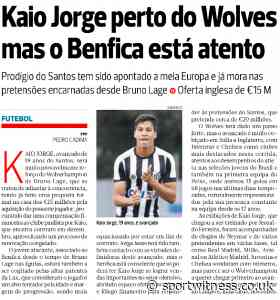 Wolves make bid for South American – Bruno Lage looking to move before competition - Sport Witness