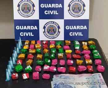 Guarda de Capivari prende homem com 74 porções de entorpecentes no bairro São João - SeuJornal