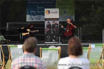 Endlich wieder Musik: Fotos vom Konzert im Naturbad in Olfen - Ruhr Nachrichten