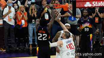 NBA playoffs: Deandre Ayton's game-winner caps wild finish to Suns-Clippers Game 2