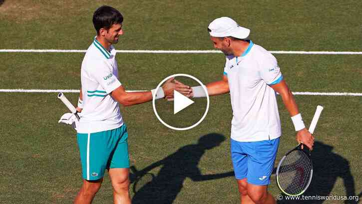 ATP Mallorca 2021: Djokovic's doubles wins and the day 3 HIGHLIGHTS