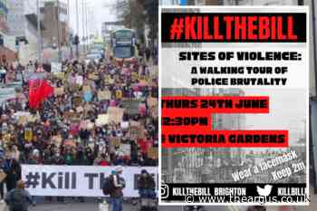 Kill the Bill protestors to march in Brighton this week