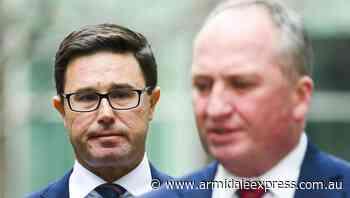 Nats deputy leader denies succession plan - Armidale Express
