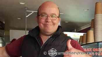Vale Michael John Morley - Armidale Westside Espresso owner and chief barista - Armidale Express