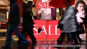 Victorian lockdown keeps lid on spending - Armidale Express