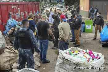 Materiais furtados de equipamentos públicos são apreendidos em Curitiba - CBN Curitiba 90.1 FM