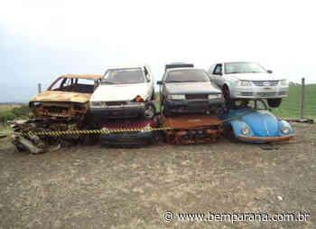 DER realiza leilão de sucatas de veículos em Curitiba - Bem Paraná - Bem Paraná