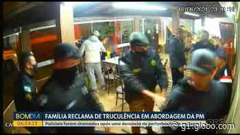 Família acusa PM de truculência durante abordagem em padaria de Curitiba - G1
