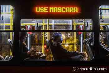 Projeto limita a 50% lotação máxima nos ônibus de Curitiba na pandemia - CBN Curitiba 90.1 FM