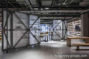 Mumokuteki Concept Bookstore / LUO studio
