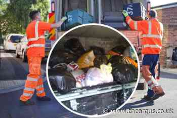 Brighton and Hove bin collections: 'Piles of rubbish' fears