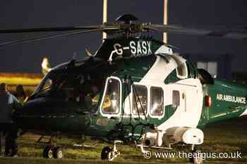 Air ambulance lands in Littlehampton to attend incident