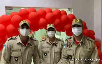 Corpo de Bombeiros de Volta Redonda participa de campanha de doação de sangue   Volta Redonda   O Dia - O Dia
