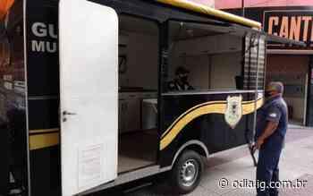 Guarda Municipal de Volta Redonda instala base fixa na Av. Amaral Peixoto - O Dia