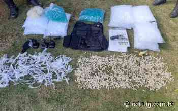 Ação da PM apreende arma e material do tráfico em Volta Redonda - O Dia