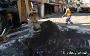 Serviços de manutenção foram realizados durante final de semana em Volta Redonda - O Dia